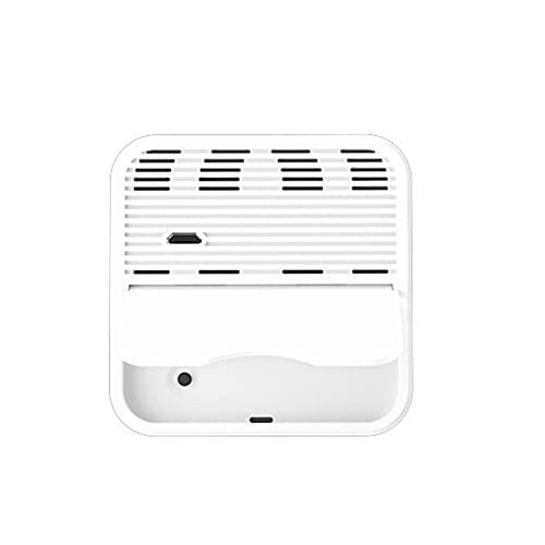 Defeat Termo-higrómetro digital, termómetro de ambiente, higrómetro digital, monitor de humedad del aire, termómetro interior inalámbrico, para casa, bodega, habitación de bebé y niños