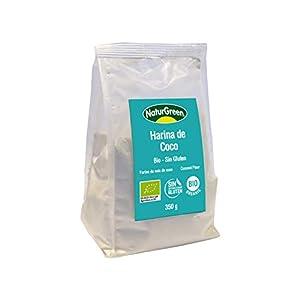 NaturGreen Harina Coco Bio 350G Envase De 350 Gramos 350 ml