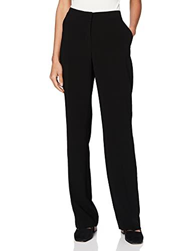 Daniel Hechter Straight Pants Pantaloni, Nero (Black 990), 50 (Taglia Produttore: 44) Donna