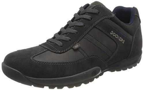 Dockers by Gerli Herren 36HT004 Sneaker, Schwarz (Asphalt 230), 43 EU