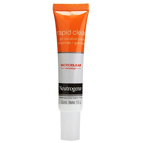 Gel Secativo Rapid Clear Facial, Neutrogena, 15g