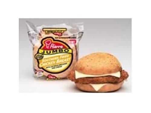 Pierre Jumbo Southern Fried Chicken Breast Sandwich, 6.4 Ounce -- 12 per case.