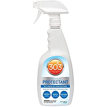 303 UV Protectant Spray - Ultimate UV Protection - Helps Prevent Fading And Cracking - Repels Dust Lint and Staining - Restores Lost Color And Luster 32 fl oz  30313CSR