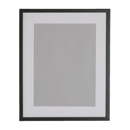 ★RIBBA フレーム (42×52cm) / ブラック[イケア]IKEA(60171305)