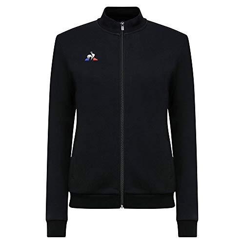 Le Coq Sportif N°1 FZ Sweat Presentation Coton W Sudadera, Mujer, Black, XL