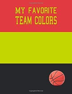 My Favorite Team Colors: Dot Grid Journal