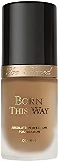 Too Faced Born This Way Paraben Free and Oil-free Foundation - Full, Undetectable Coverage (Honey)