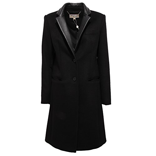 Michael Kors 9209U Cappotto Donna Nero Coat Jacket Woman