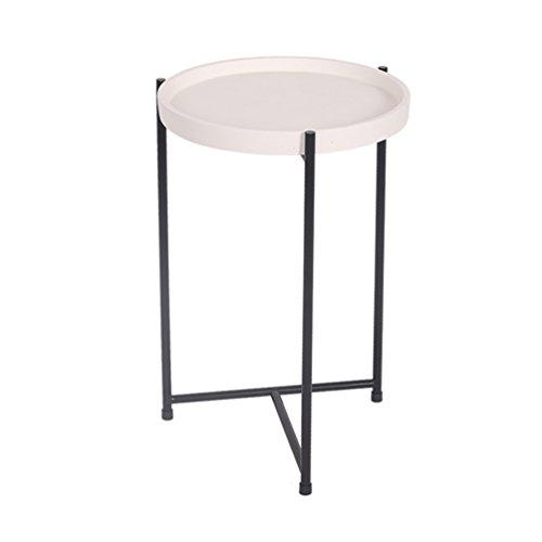 CSQ Ménage Petite Table, Creative Salon Table de Chevet Plusieurs Côtés Canapé Table Décoration Table de Lecture Négociation Table Table Basse Bureau D'ordinateur 30 * 30 * 47 CM (Couleur : #1)