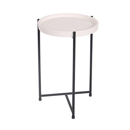 CSQ Ménage Petite Table, Creative Salon Table de Chevet Plusieurs Côtés Canapé Table Décoration Table de Lecture Négociation Table Table Basse Bureau D'ordinateur 30 * 30 * 47 CM (Couleur : #1)