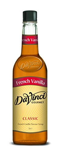 DaVinci Gourmet Classic French Vanilla Syrup Pet, 1er Pack, MEHRWEG (1 x 1 l)