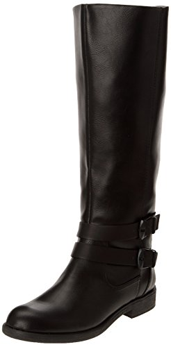ESPRIT Hanie Boot, Damen Langschaft Stiefel, Schwarz (001 black), 40 EU (6.5 Damen UK)