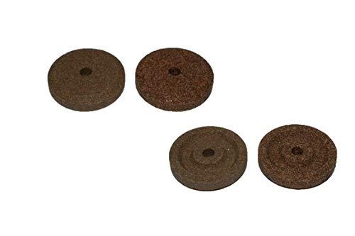 Smeriglio per affettatrice RGV ø 40 coppia DIAMETRO ESTERNO 40 mm - H 8 mm - FORO 6 mm