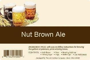 Nut Brown Ale All Grain Advanced Hombrew Beer Ingredient Kit