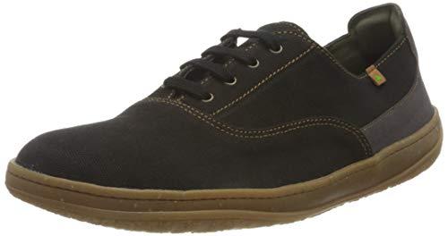 El Naturalista Herren N5394T Sneaker, Schwarz, 44 EU