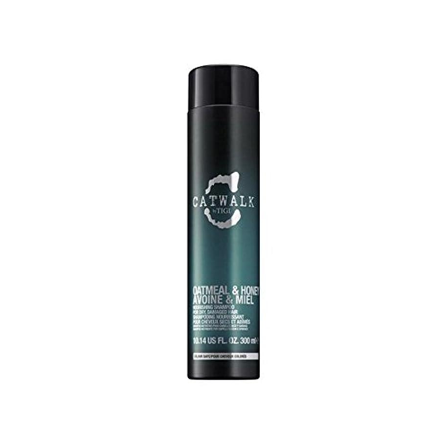 世辞土研究Tigi Catwalk Oatmeal & Honey Nourishing Shampoo (300ml) (Pack of 6) - ティジーキャットウォークオートミール&ハニー栄養シャンプー(300ミリリットル) x6 [並行輸入品]