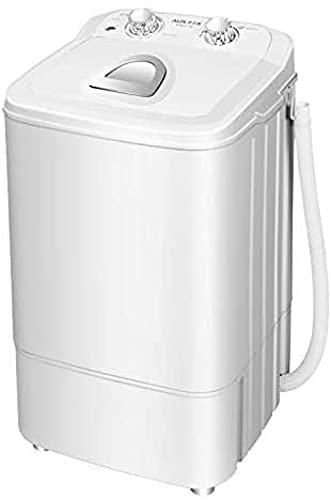 Lavadora compacta portátil 4,6 kg – con botón de lámpara germicida lila – para apartamentos hoteles