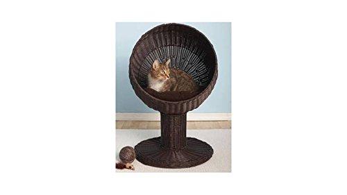 Fauteuil design pour chat Catsy marron [BLACKWEEK]