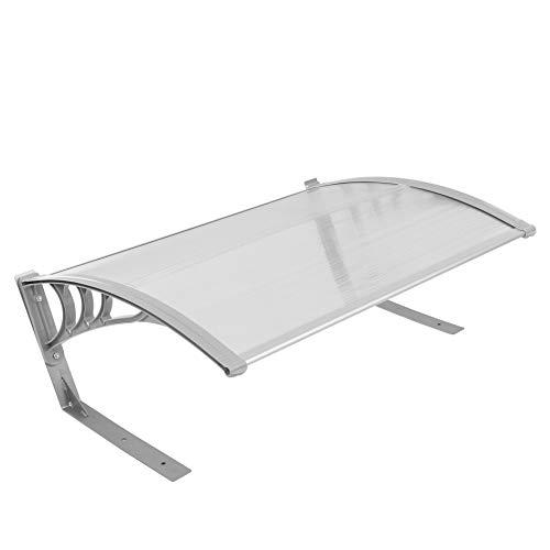 ESTEXO Mähroboter Garage Dach Carport Überdachung, 104x80x40 cm für Rasenmäher Roboter Schutzhülle UV-Schutz Unterstand (Grau)