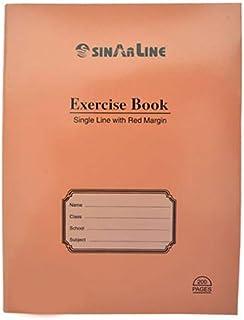 Sinarline Exercise Book 5 Piece Set