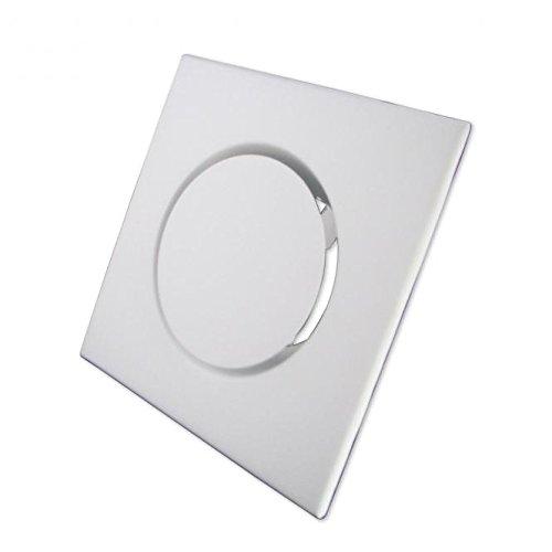Zuluftventil Stahlblech weiß eckig DN 100 mm
