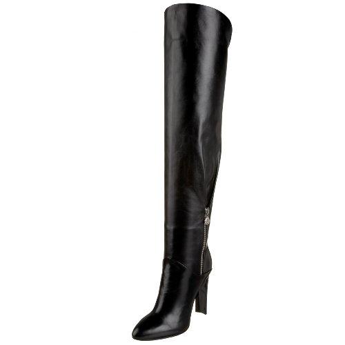 Casadei Damen 3910 Overknee-Stiefel, Schwarz (Schößchen Nero), 38.5 EU