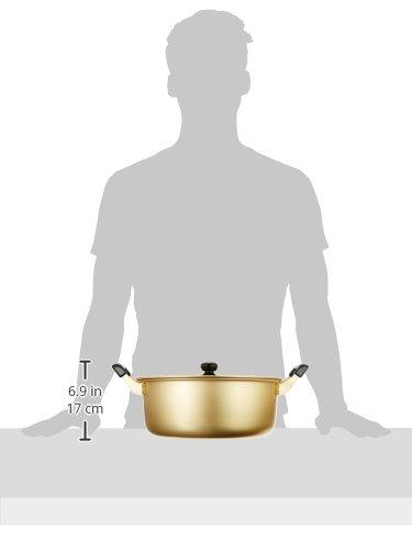 パール金属大鍋両手鍋30cm鍋蓋付ガス火専用アルミクックオールH-1782