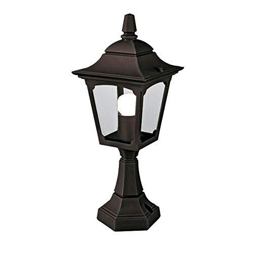 Chapel Mini Pedestal Lantern Colour: Black