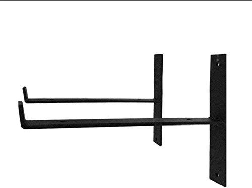 DX Iron stand wandplank in rechte hoeken Zware industriële zwembaden, garages, beurzen, winkels 20/25/30 cm 2 stukken, medium