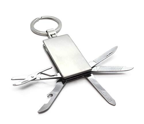 MyOwnName Werkzeug Schlüsselanhänger mit kostenloser Wunschgravur | tolles Geschenk für Handwerker