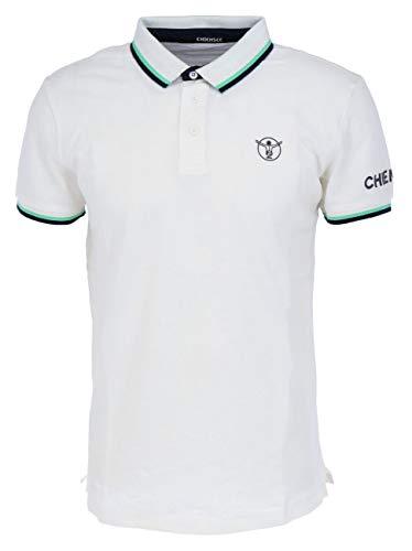 Chiemsee 21211404 Men Polo-Shirt, Größe:S, Farben:Star White