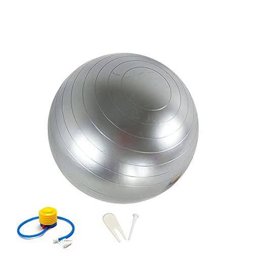 95cm CLORURO DE POLIVINILO Bola de yoga grande, bolas de aptitud extra gruesa, silla de bolas de trabajo pesado, para mejorar la fuerza de la potencia del núcleo, la flexibilidad y la postura, con el