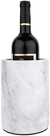 Homeries Marble Wine Chiller Bucket Wine Champagne Cooler for Parties Dinner Keep Wine Beverages product image