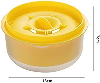 مطبخ سعة كبيرة فواصل البيض الإبداعية صديقة للبيئة أدوات المطبخ أدوات الخبز الملحقات (أصفر)