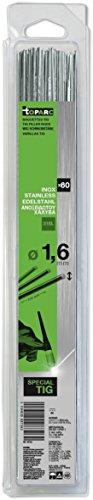 Abratools - Juego varilla gys diámetro 1,6mm inoxidable 316l(blister 60u)