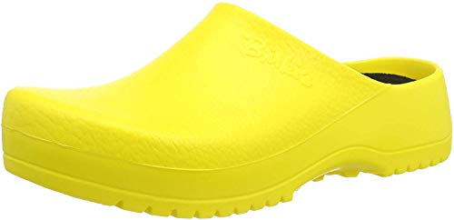 Birki's Unisex-Erwachsene Super Birki Clogs, Gelb (Yellow), 42 EU