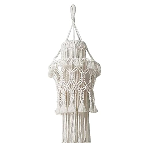 EElabper Macrame Colgar de la Pared Tejida Cuerda decoración de la Pared Ahorcamientos Kit de algodón Hecho a Mano para Sala de Estar Home Buenos Regalos