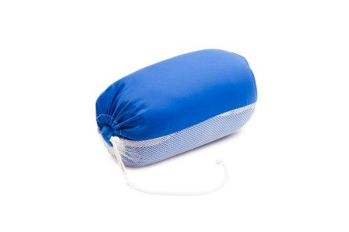 Jumbo Bag 00005-12 Softy Coussin Confort Tissu Bleu 30 x 18 x 18 cm