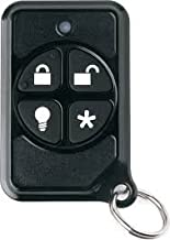 Interlogix 600-1064-95R-PK 4-Button Micro Keyfob, Provides Portable Control of the Security System, LED Confirms RF Transmission, Battery Included, La
