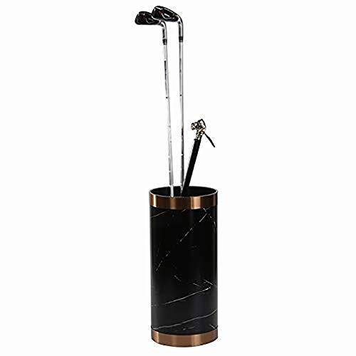 Xiao Jian-Supports parapluhouder van PVC voor ronde perage, voordeur in moderne stijl, parapluhouder voor binnen en kantoor zwart.