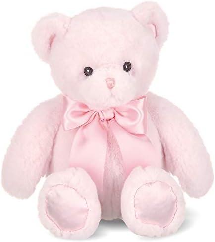 Bearington Baby Pink Plush Teddy Bear Stuffed Animal 10 Inch product image