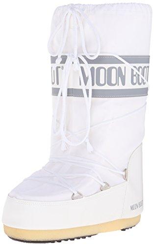 Moon Boot 140044, Stivali Invernali Unisex, Bianco (Bianco 6), 35-38