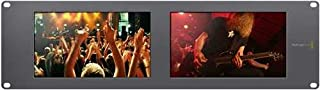Blackmagic Design Smartview Duo 2 Rackmountable Dual 8 inch LCD HDL-SMTVDUO2