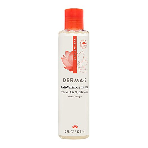 DERMA E Anti-Wrinkle Toner w/Glycolic Acid, 6 oz