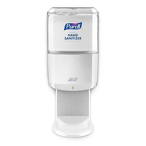 PURELL ES6 Touch-Free Hand Sanitizer Dispenser, White, for 1200 mL PURELL ES6 Hand Sanitizer Refills (Pack of 1) - 6420-01