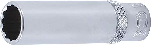 BGS 10710   Steckschlüssel-Einsatz Zwölfkant, tief   6,3 mm (1/4