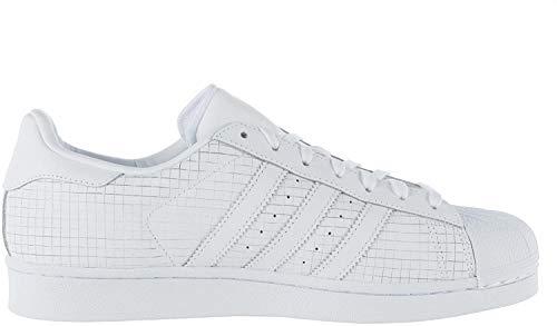 adidas Mens Originals Mens Superstar Trainers in White - UK 4.5