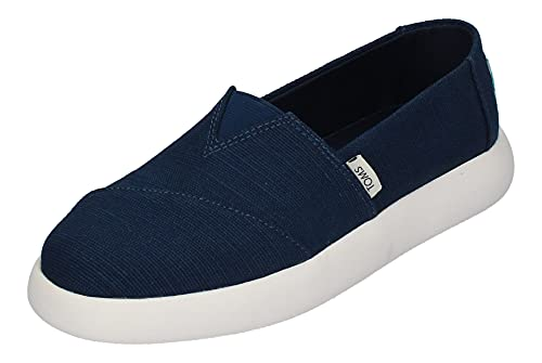 Toms Women Alpargata Mallow Sneaker, Mujer, Blue, 41 EU