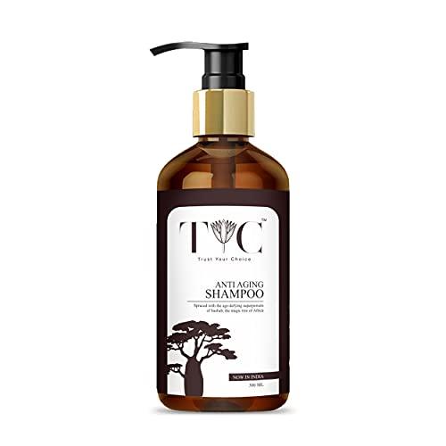 TYC Anti Aging Hair Repair and Anti Hair Fall Shampoo | Hair Damage Control Shampoo For Men & Women| Herbal Aqua and BAOBAB...