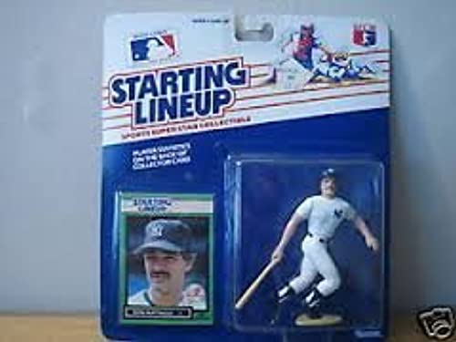 1989 Starting Lineup Don Mattingly voitured and Figurine by Kenner